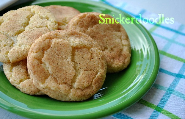 Snickerdoodles @www.you-made-that.com