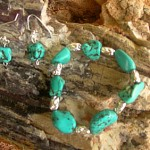 Thumbnail image for Turquoise Bracelet and Earings