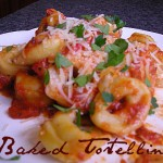Thumbnail image for Baked Tortellini with Spinach, Red Peppers & Mushrooms