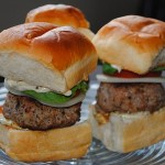 Thumbnail image for Pesto Burger Shots