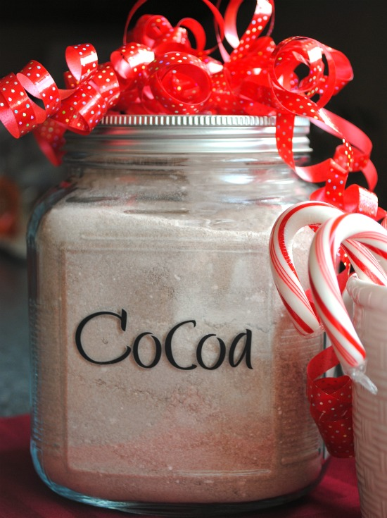 Homemade cocoa mix