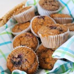 Thumbnail image for Sunday Spotlight Recipes-Healthy Oat Muffins with Blackberries