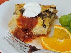 Thumbnail image for Sausage and Cheese Breakfast Casserole