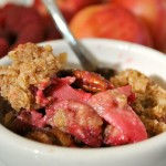 Thumbnail image for Raspberry & White Nectarine Crisp