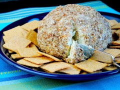 Thumbnail image for Green Onion Party Cheeseball
