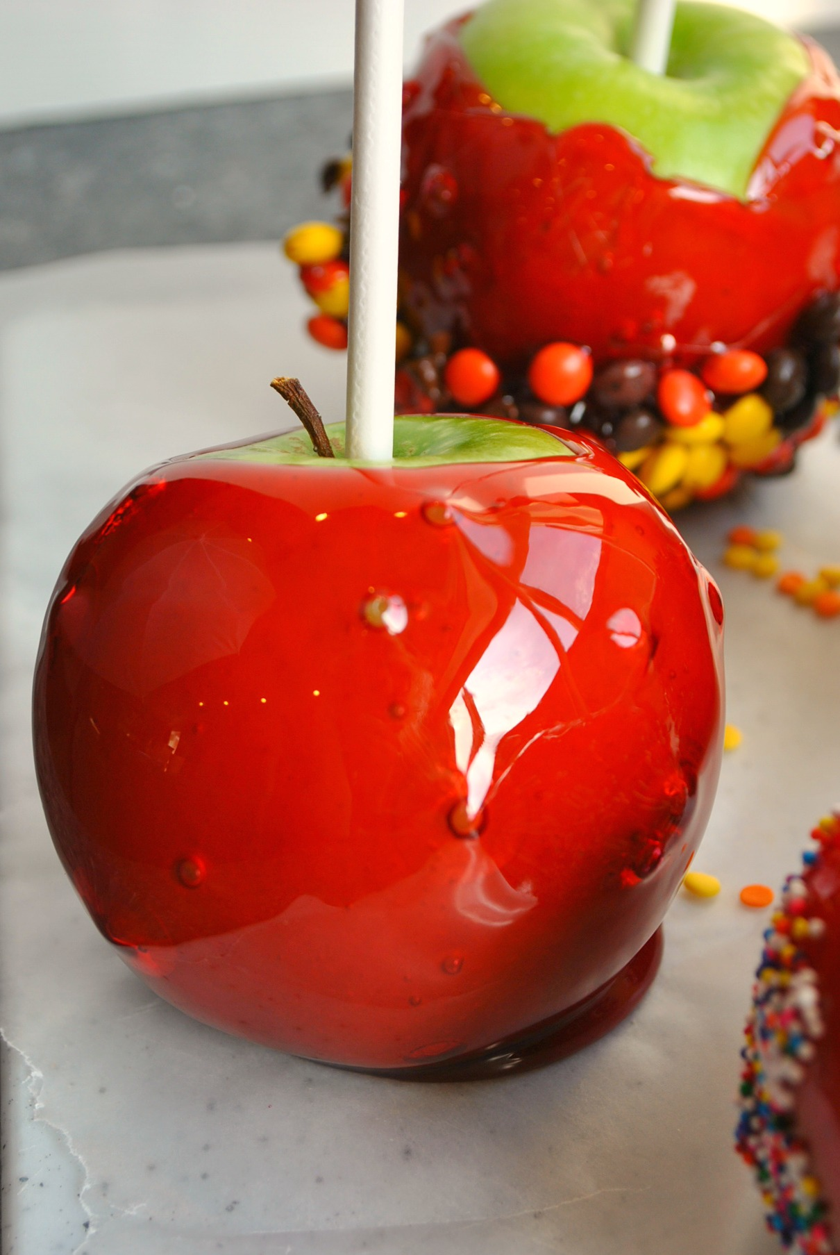 Candy apples | you-made-that.com