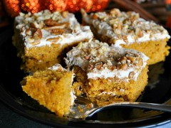 Thumbnail image for Pumpkin Bars- {Healthier Recipe}