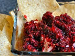 Thumbnail image for Cranberry Salsa with Cream Cheese