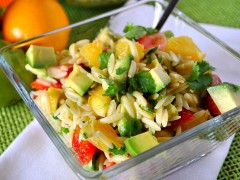 Thumbnail image for Citruslove Bloghop: Light Fruity Orzo Salad with Citrus Vinaigrette