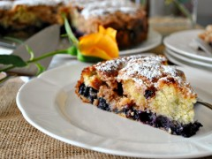 Thumbnail image for Blueberry Buckle Cake