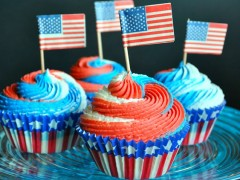 Thumbnail image for Red, White and Blue Cupcakes