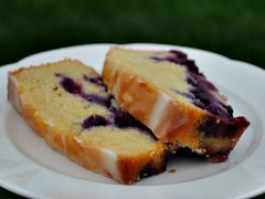 Thumbnail image for Dad's garden + gluten free~ lemon blueberry yogurt bread
