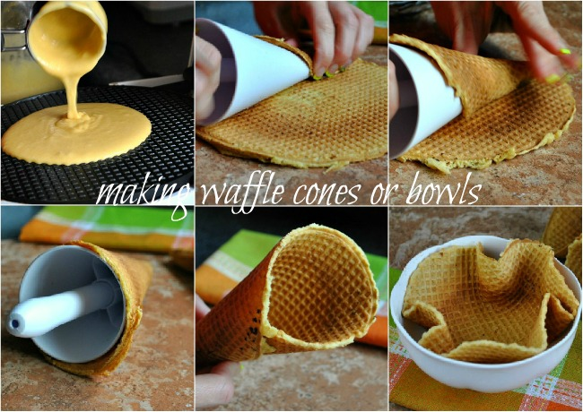 Waffle Cone Recipe Recipe For Waffle Cones From