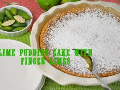 Thumbnail image for Lime Pudding Cake with Finger Limes