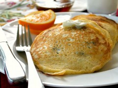 Thumbnail image for Blueberry Cornmeal Pancakes
