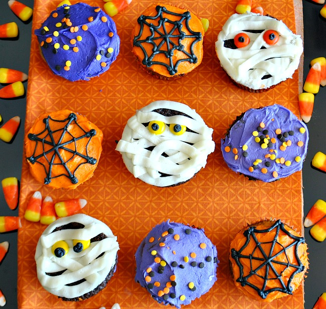 Halloween cupcakes for How to make halloween cupcakes from scratch
