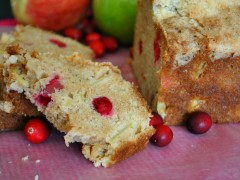 Thumbnail image for Apple Cranberry Bread with Streusel Topping