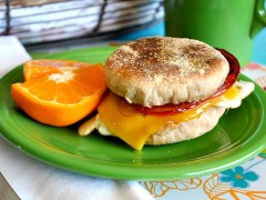 Thumbnail image for Homemade Wheat English Muffins