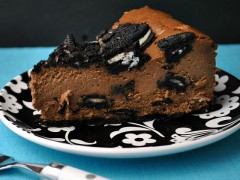 Thumbnail image for Oreo Cookie Chocolate Cheesecake