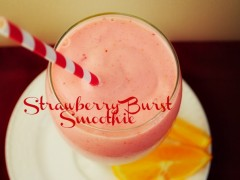 Thumbnail image for Strawberry Burst Smoothie