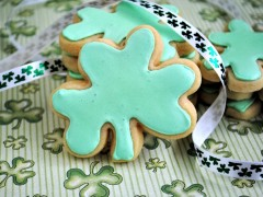 Thumbnail image for Shamrock Sugar Cookies and a {Giveaway}