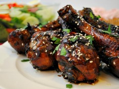 Thumbnail image for Sweet and Sticky Chicken Drumsticks