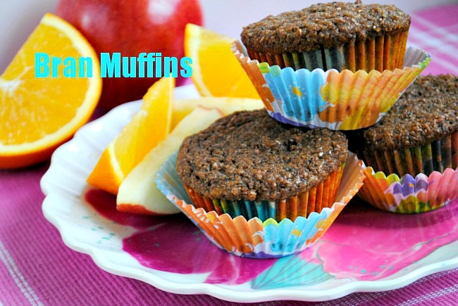 bran muffins | Suzanne @www.you-made-that.com