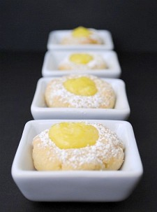 Lemon Curd Thumbprints