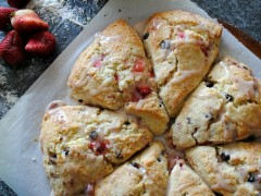 Thumbnail image for Strawberry Chocolate Chip Buttermilk Scones