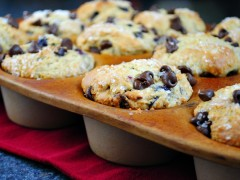 Thumbnail image for Chocolate Chip Cherry Muffins