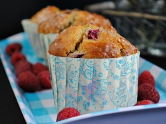 Thumbnail image for Brown Butter Raspberry Muffins with Lemon