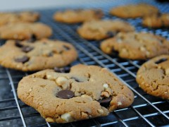 Thumbnail image for Gluten Free Peanut-Butter Chocolate Chip Cookies