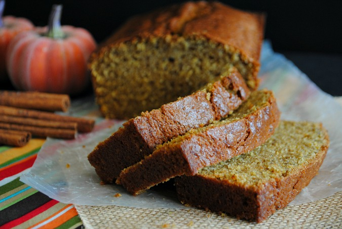 Brown butter pumpkin bread | you-made-that.com