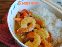 Thumbnail image for Coconut Curry Shrimp