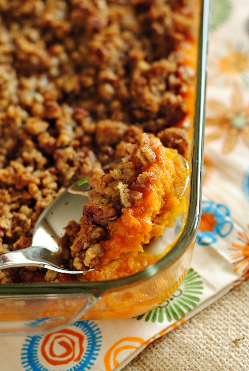 Sweet potato casserole | you-made-that.com