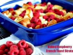 Thumbnail image for Baked Raspberry French Toast Strata