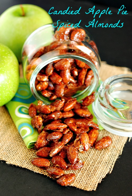 Candied Apple Pie Spiced Almonds