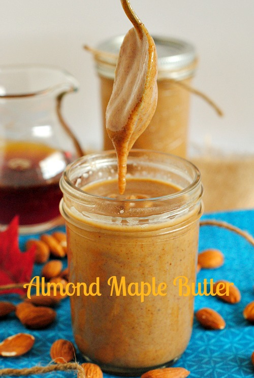 Almond maple butter | you-made-that.com