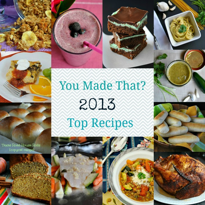 2013 Top Recipes YMT | www.you-made-that.com
