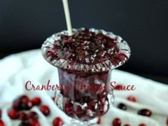 Thumbnail image for Cranberry Cherry Sauce & inspiration for decorating your Thanksgiving Table
