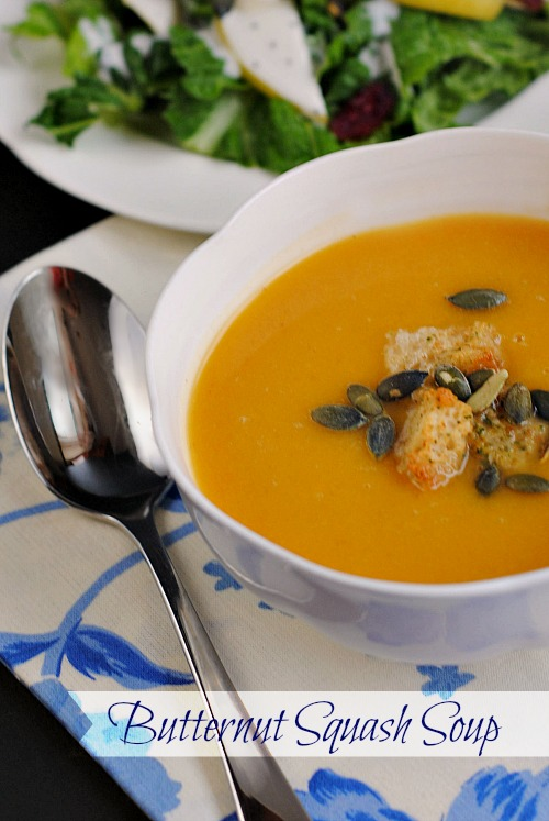 Butternut squash soup |you-made-that.com