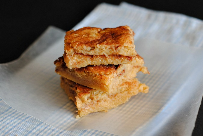 snickerdoodle bars | you-made-that.com