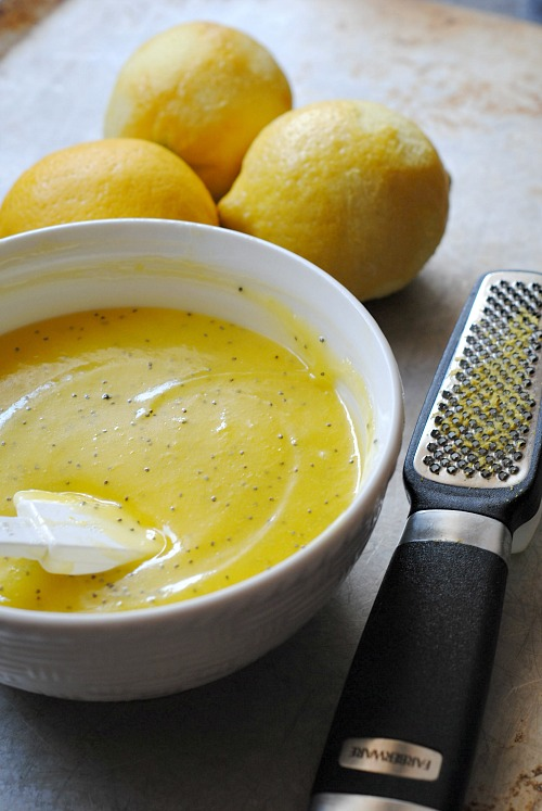 microwave lemon poppyseed curd | you-made-that.com