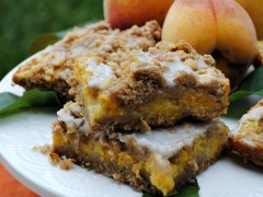 Thumbnail image for Peach Pie Crumb Bars
