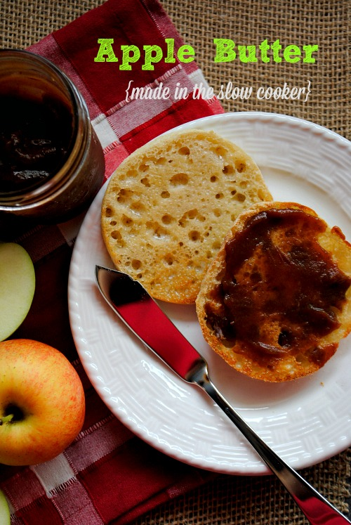 Apple Butter {made in the slow cooker} | you-made-that.com