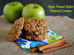 Thumbnail image for Apple Peanut Butter Oatmeal Cookies