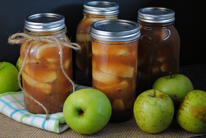 Canned apple pie filling | you-made-that.com
