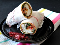 Thumbnail image for Cajun Chicken Wraps with Cranberry Sauce