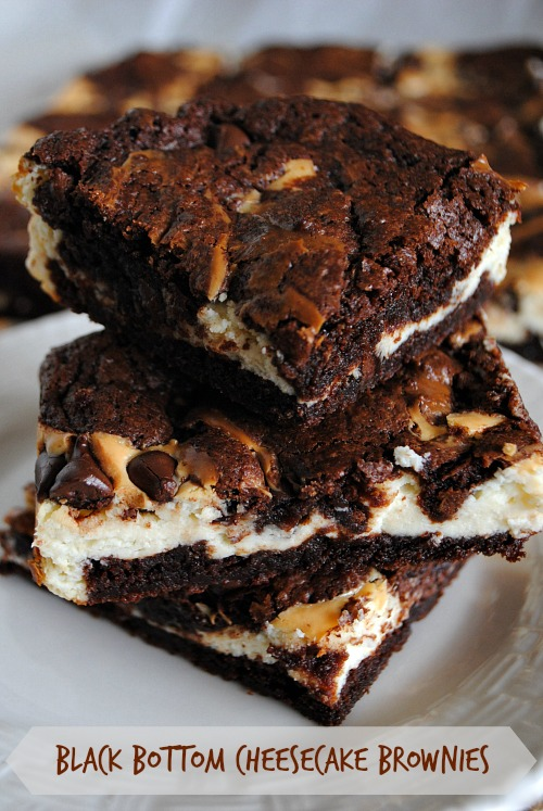 Black bottom cheesecake brownies1