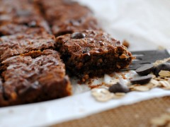 Thumbnail image for Healthy Almond butter Oatmeal Chocolate Chips Bars